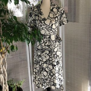 Lounie polyester wrap dress